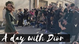 PARIS: A DAY WITH DIOR!