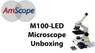 AmScope M100C-LED Unboxing Video