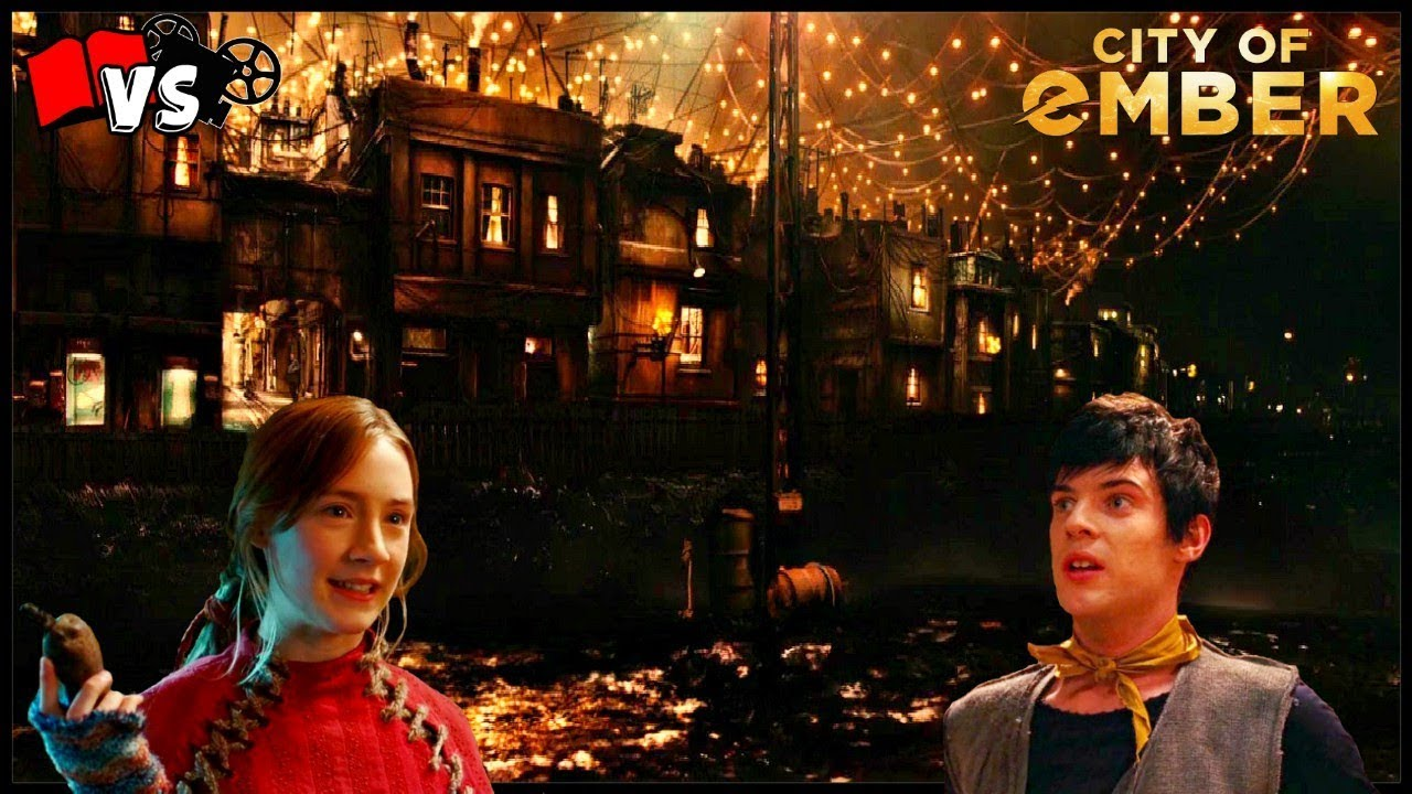book vs movie the city of ember youtube