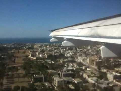 BAe 146 Landing at Tripoli - Mitiga (Libya)