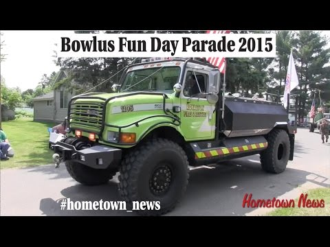 Bowlus Minnesota Fun Day Parade 2015: By the Hometown News