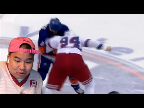 WHO WOULD WIN BOOGEYMAN OR LUCIC?!?! DEREK BOOGAARD FIGHT HIGHLIGHTS