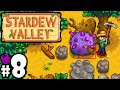 Stardew Valley Gameplay Walkthrough PART 8 - Meteorite, Haley's Birthday, Night Owl, Lost Book PC