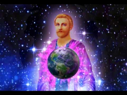 Saint Germain and the Violet Laser Light