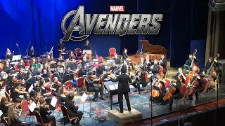 The Avengers Theme Symphony Orchestra LIVE