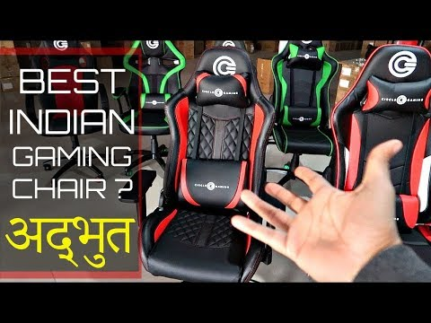BEST GAMING CHAIR    CIRCLE GAMING CH60 RED BLACK