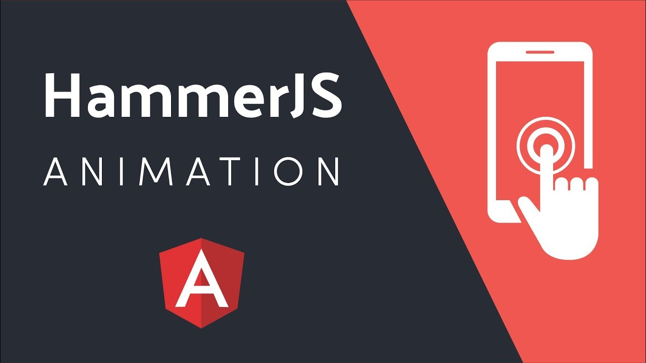 Mobile Touch Animation With HammerJS and Angular