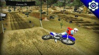 MX vs. ATV Reflex - Laroma Desert - Custom Track Gameplay