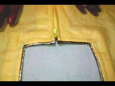 79c7d2d507c4 Kameez back neck (attached zip) cutting and stitching in hindi - YouTube