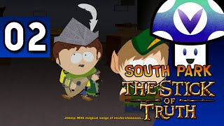 [Vinesauce] Vinny - South Park: The Stick of Truth (part 2) + Art!
