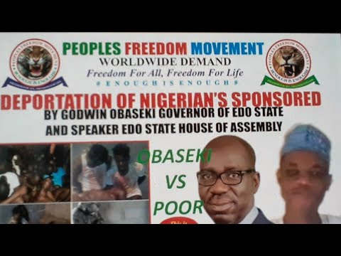 THE INNOCENT POOR CITIZENS VS GOVERNOR GODWIN OBASEKI AND APC CORRUPT LEADERS OF NIGERIA.