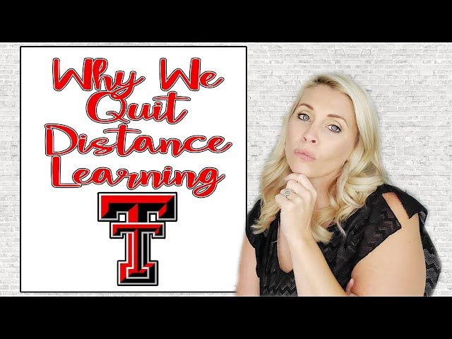 WHY WE QUIT DISTANCE BASED PUBLIC SCHOOL | Quitting Texas Tech University K-12 | TTUISD