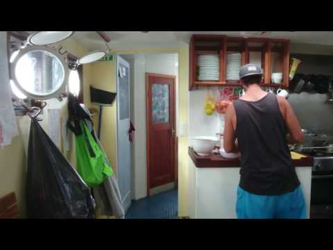 Woody's World - WATCH: Cooking On Rough Seas