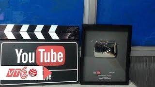 Kênh truyền hình VTCTube nhận nút Play bạc | VTC