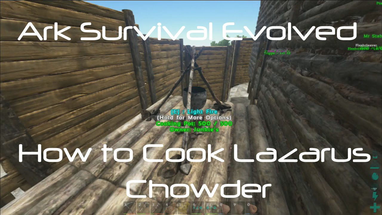 how to make chowder in ark