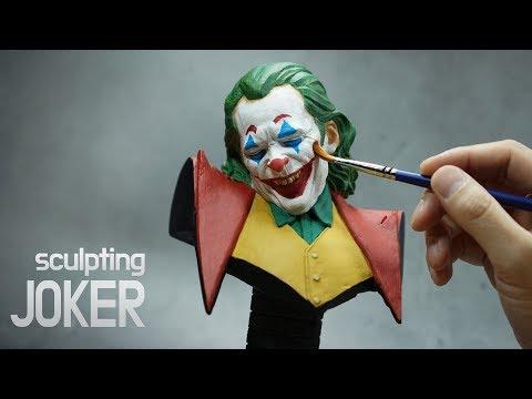 Sculpting Joker Bust - 조커 흉상 만들기