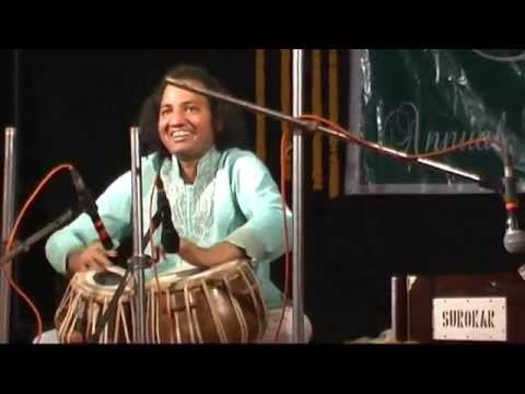Ustad Latif khan Tabla solo in kolkata  (Hawra) 10 jan 2015