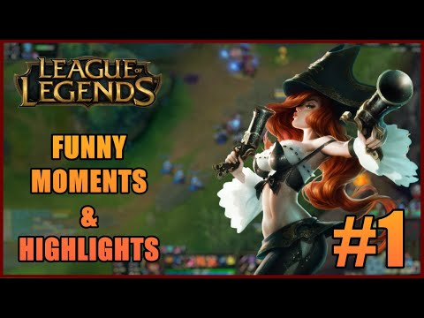 League Of Legends FUNNY MOMENTS & HIGHLIGHTS Ep: 1