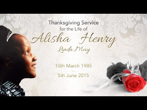 Home Going Service of Alisha Henry