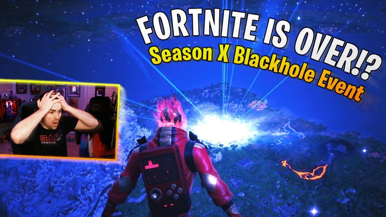 Fortnite S Season 10 End Sucked The Entire Game Into A Black