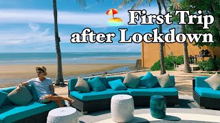 🏖️ FIRST TRIP After Lockdown - NEW NORMAL in Thailand 🇹🇭