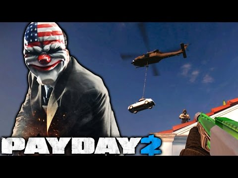 Dropping Cars - Payday 2 Heisting