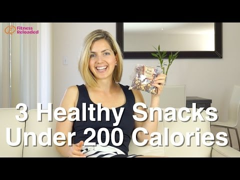 My 3 Favorite Healthy Snacks Under 200 Calories
