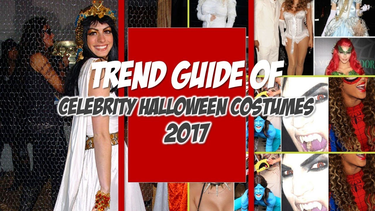 Best Celebrity Halloween Costumes 2017 - YouTube