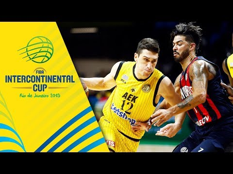 San Lorenzo v AEK - Semi-Final - Full Game - FIBA Intercontinental Cup 2019