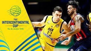 San Lorenzo v AEK - Semi-Final - Full Game - FIBA Intercontinental Cup 2019