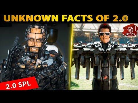 Unknown Facts About 2.0 | Rajinikanth | Akshay Kumar | A R Rahman | Shankar |#Nettv4u