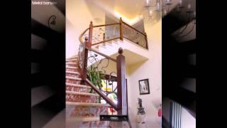 Лестницы. Перила. Ковка. Металл(Примеры лестниц и перил с использованием кованых элементов. http://e-bronedveri.com.ua/vorota-reshetchatie.html., 2011-02-04T11:30:58.000Z)