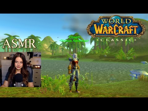 ASMR | Fishing In The Barrens In Classic WoW 🐟 Ambient Sounds, Whispering