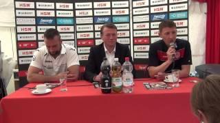 Pressekonferenz SC Pfullendorf - KSV Baunatal