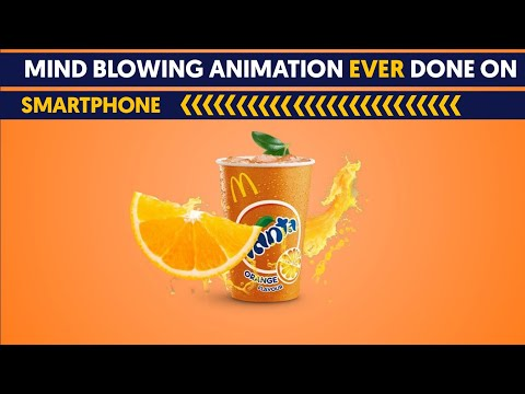 product  advertisement in kinemaster | motion graphics in kinemaster | Smartphone animation