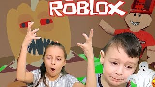 👻DOM with ghosts in ROBLOX Stashnyj House with zombies new adventures from AVG