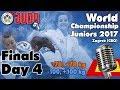 World Judo Championship Juniors 2017: Day 4 - Final Block