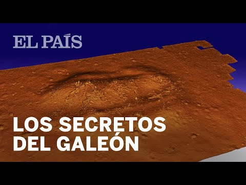 Os secretos en 3D do galeón 'San José' salen a flote