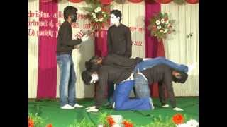 Mime-Side effects of mobile phones by Vins ECE Dept guys during Capsi 2k12