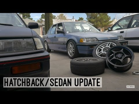 Restored Suspension for the EF Civic Sedan