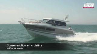 JEANNEAU NC9 - Essai moteurboat.com