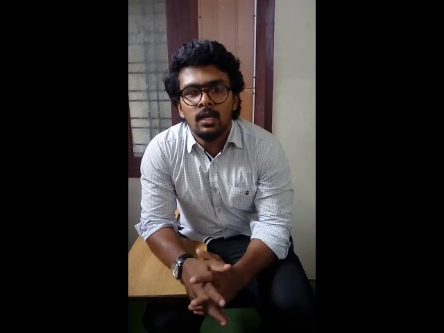 Edwin IELTS, Testimonial BeMax Academy- Best Coaching for IELTS, OET Centre in Kerala