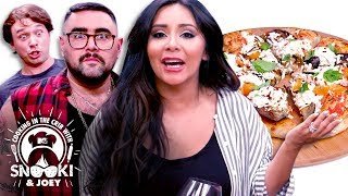Snooki Makes Homemade Pizza 🍕ft. Frankie Celenza | Cooking in the Crib w/ Snooki & Joey