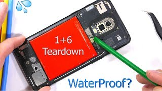 OnePlus 6 Teardown! - How Water Proof is it really?