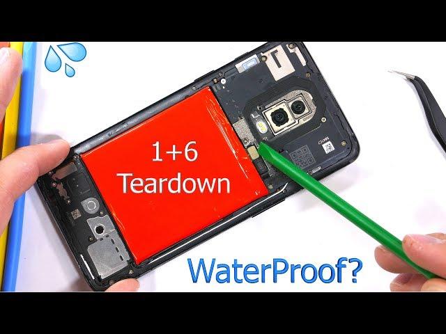 OnePlus 6 teardown reveals real water resistance rating