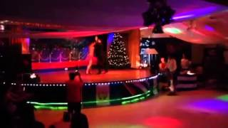 Oscle and Lisi Cuba Dance performance at Havana Salsa Xmas