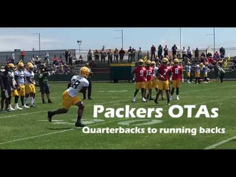 Green Bay Packers OTAs: QBs and RBs
