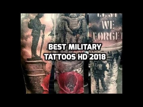 Military Tattoos HD - Best Military Tattoo Designs