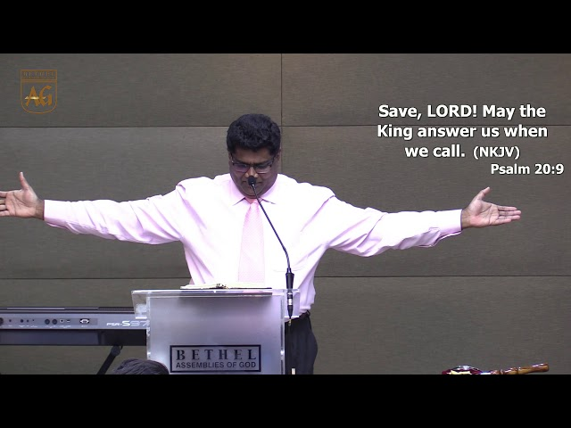 Ps David | English Sermon | 30 August 2019