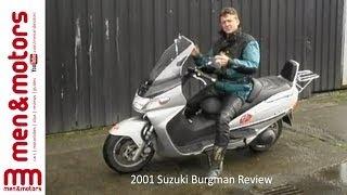 2001 Suzuki Burgman Review
